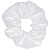 Smoothies Cotton/Lycra Scrunchie-White 00690