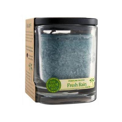 Eco Palm Square Jar, Fresh Rain Turquoise 8 oz by Aloha Bay