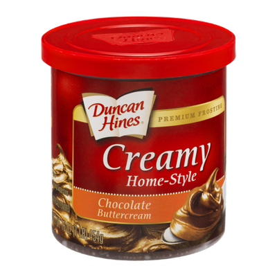 Duncan Hines Frosting Creamy Home-Style Chocolate Buttercream