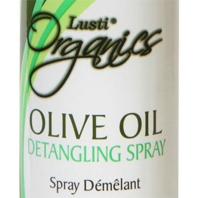 Lusti Organics Olive Oil Anti-frizz Hair Detangling Spray 12oz
