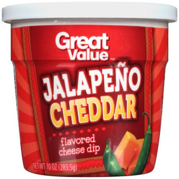 Great Value Jalapeno Cheddar Flavored Cheese Dip, 10 oz