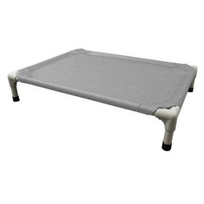 Coolaroo Aluminum Pet Bed, Small, Gray