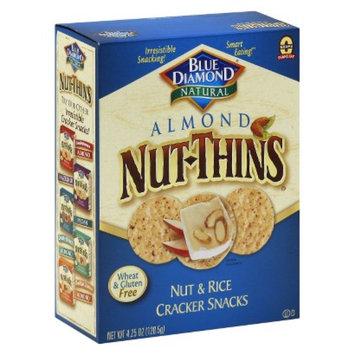 Blue Diamond Almond Nut-Thins Cracker Snacks 4.25 oz