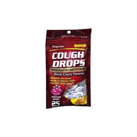 Walgreens Sugar Free Cough Drops, Black Cherry, 25 ea