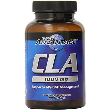 Pure Advantage CLA Conjugated Linoleic Acid Softgels, 1000 Mg, 90 Count