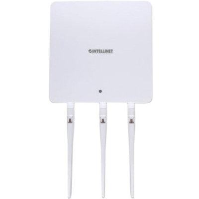 Intellinet Highpower 525787 Ieee 802.11ac 1.71 Gbit/s Wireless Access Point - 2.40 Ghz, 5 Ghz - 3 X Antenna[s] - 3 X External Antenna[s] - 1 X Network [rj-45] - USB - Poe, Ac Adapter - Wall Mountable