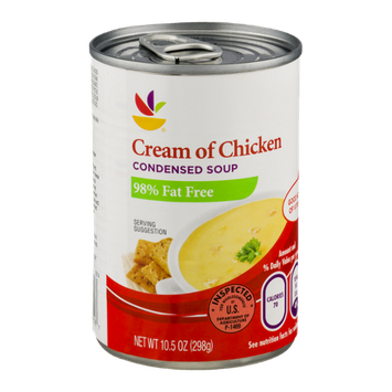 Ahold Cream of Chicken Condensed Soup 98% Fat Free