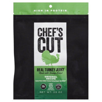 Chef's Cut JERKY, TURKEY, ORIGINAL, (Pack of 8)
