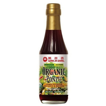 Wan Ja Shan Organic Ponzu (Citrus Seasoned Soy Sauce) 10 Oz (Pack of 12)