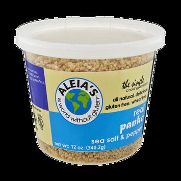 Aleia's Sea Salt & Pepper All Natural Gluten Free Panko