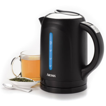 Aroma Gourmet 6-Cup Digital Electric Kettle - Black (1.5-Liter)