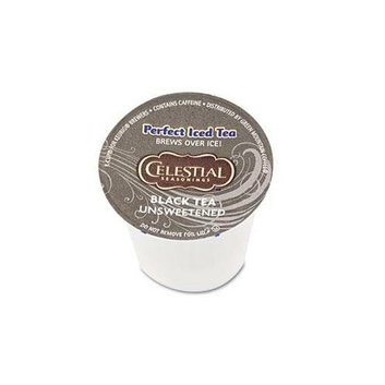 Celestial Seasonings Unsweetened Black Iced Tea K-Cups