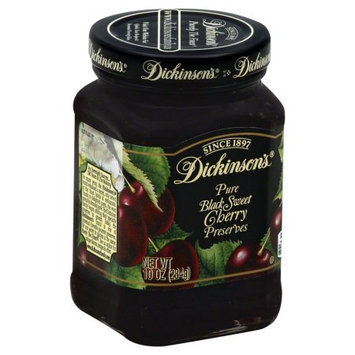 Dickinsons Bing Cherry Preserves, 10 OZ (Pack of 6)