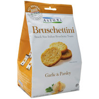 Asturi Bruschettini Garlic & Parsley Bruschetta Toasts, 4.23 oz