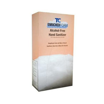 Tc Manual Foam Alcohol-free Hand Sanitizer Refill