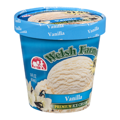 Welsh Farms Premium Ice Cream Vanilla