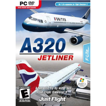 Digital Interactive A320 JETLINER - FLIGHT SIMULATOR EXPANSION PACK - Black