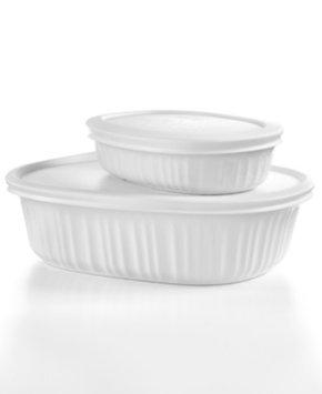 Corningware French White Mini Bake Set