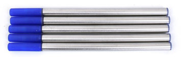 Royal Pk/5 Standard International Rollerball Refills, Blue Fine 0.5mm