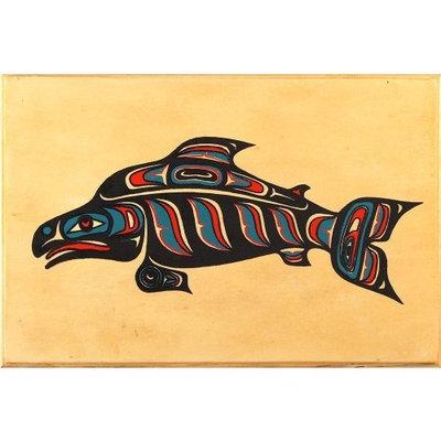 Alaska Smokehouse Smoked Sockeye Salmon Fillet In Wood, 8 Ounce Gift Box