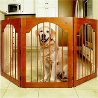 Majestic Pet- Free Standing Wood Pet Gate