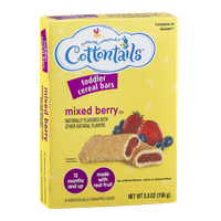Cottontails Toddler Cereal Bars Mixed Berry