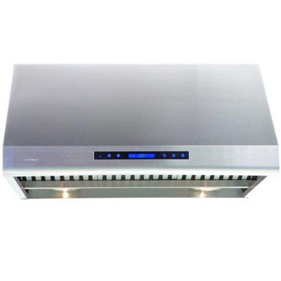 Cavaliere-Euro AP238-PS83-30 Under Cabinet AirPRO Range Hood; Stainless Steel