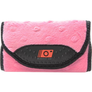 MADE Always On Compact Camera Wrap Case (Pink Fur)