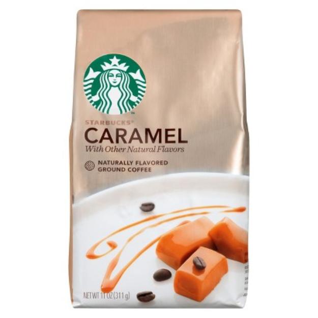 Starbucks Coffee Starbucks Caramel 11oz Ground