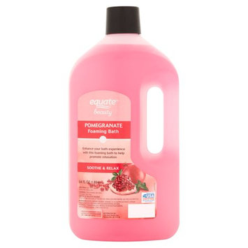 equate™ Beauty Pomegranate Foaming Bubble Bath