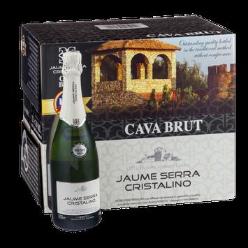 Jaume Serra Cristalino Cava Brut - 12 CT