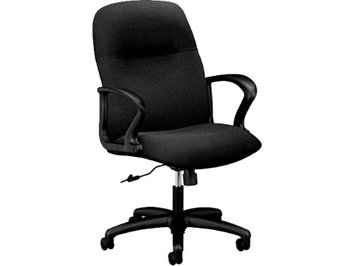 HON Gamut H2072 Mid-Back Management Chair with Loop Arms