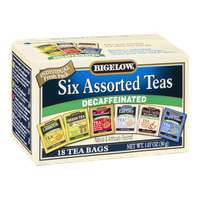 Bigelow Decaffeinated Six Assorted Teas - 18 CT