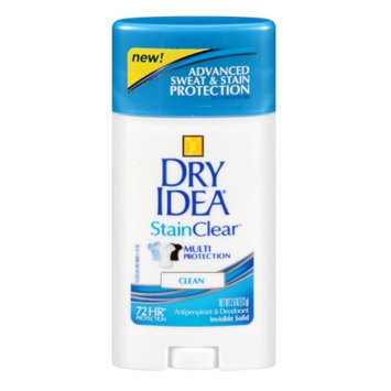 Dry Idea Stain Clear Antiperspirant & Deodorant Invisible Solid Clean