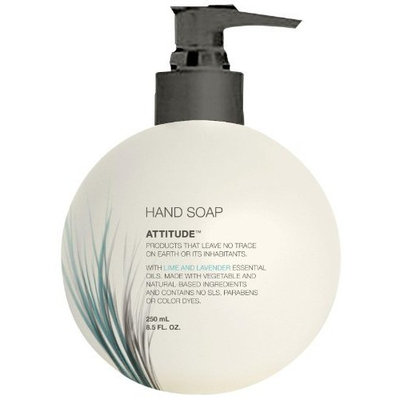 Armani Attitude Liquid Hand Soap, Lime & Lavender, 8.5-Ounce Bottles (Pack of 12)