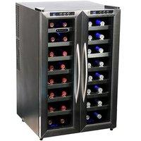 Whynter LLC 32 Bottle Dual Temperature Zone Wine Cooler