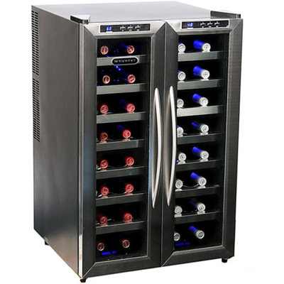 Whynter LLC 32 Bottle Dual Temperature Zone Wine Cooler
