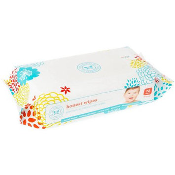 The Honest Company All Natural Cloth Baby Wipes, 72 sheets