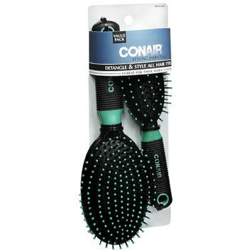 Conair Brush Detangle and Style Hair Brush Set