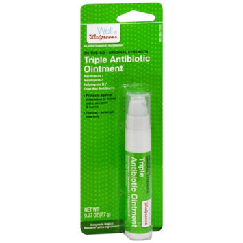 Walgreens Triple Antibiotic Ointment On-the-Go Pump