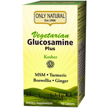 Only Natural - Vegetarian Glucosamine Plus - 90 Tablets