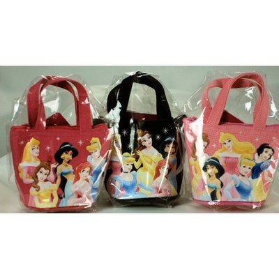 2009 - Japan City Corp - Disney - Set of 3 - Child's Disney Princess Coin Purses - 1 Black / 1 Pink / 1 Dark Pink - Jasmine / Cinderella / Ariel / Belle / Plus Others - 5 on Each Purse - Out of Production - Limited Edition - Very Collectible
