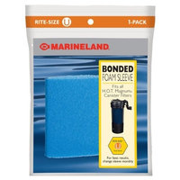 Marineland PA0115 Rite-Size U Bonded Foam Sleeve for HOT Magnum Filter, 1-Pack