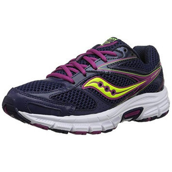 Saucony Women's Cohesion 8 Running Shoe [Silver/Grey/Coral, 9 B(M) US]