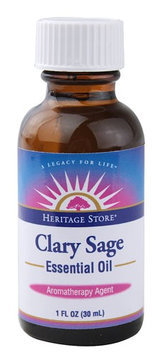 Heritage Products Essential Oil Clary Sage 1 fl oz
