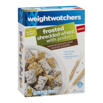 Weight Watchers Cereal Frosted Shredded Wheat with Protein