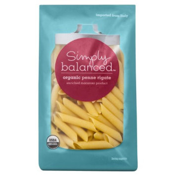 Simply Balanced Organic Penne Rigate Pasta 16 oz