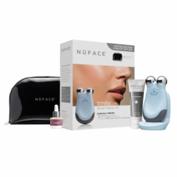 NuFace Limited Edition Trinity Facial Trainer Kit with Free Gift, Icicle Blue, 1 ea