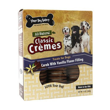Three Dog Bakery Classic Creme, Carob with Vanilla Flavor, 13 oz