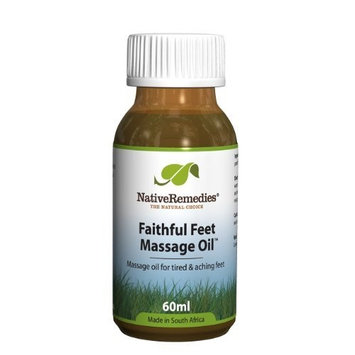 Native Remedies Faithful Feet Massage Oil to Soothe Tired & Aching Feet Especially During Pregnancy, 60ml